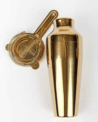 Gold Cocktail Shaker - Luxe for Less Holiday Gift Guide