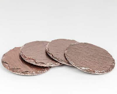 Rose Gold Coasters - Drink Glass Coasters - Luxe for Less Holiday Gift Guide