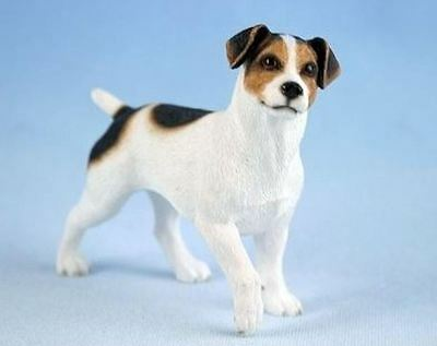 Jack Russell Dog Figurine by Leonardo Collection Small Ornament Cute