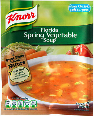Knorr Florida Spring Vegetable Soup 3 X 48G **will Send Worldwide**