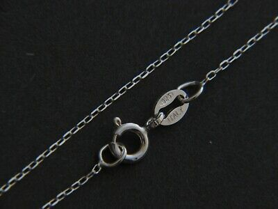 .925 Sterling Silver 1.1mm Cable Chain Necklace for Pendants *Wholesale Prices*