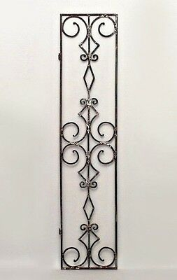 Italian Renaissance Style (19/20th Cent.) Narrow Iron Gates