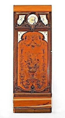 French Victorian Monumental Walnut Framed Panels (PRICED EACH)