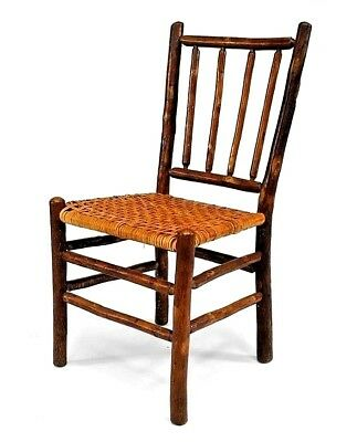 Rustic Old Hickory Side Chairs