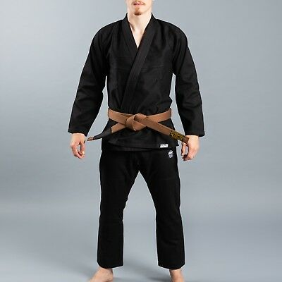 Scramble BJJ Gi Standard Issue V2 Semi Custom Black Edition BJJ Jiu-Jitsu Kimono