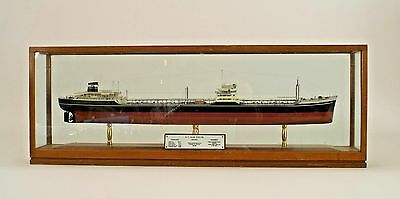 English (20th Cent.) Style Ship Model of Oil Tanker