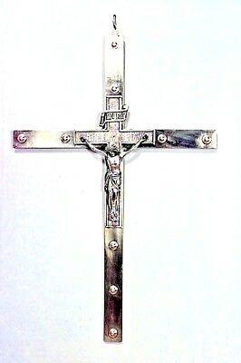Italian Renaissance Style (19th Cent.) Brass Wall Mounted Crucifixes