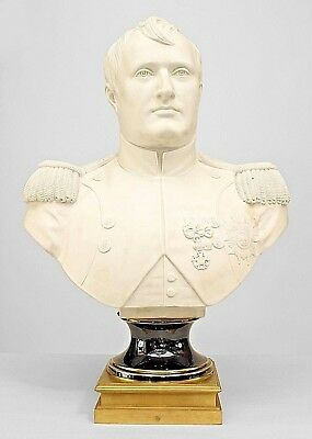 French Empire Style (Late 19th Century) Life Size Parian Bust of Napoleon