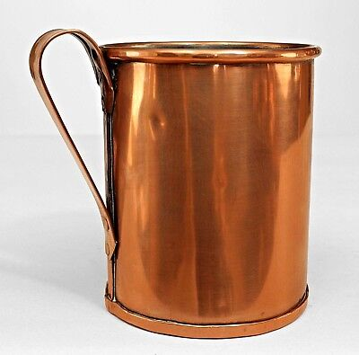 English Renaissance Style Copper Tankards with Handle (20th Cent)