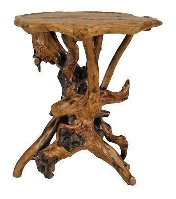 Rustic Adirondack Style (20th Cent.) Root Side Table