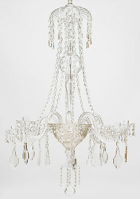 Continental (Possibly Austrian Mid-19th Cent.) Crystal Chandelier