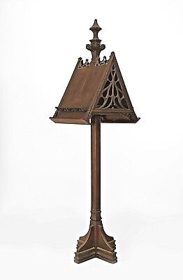 English Gothic Revival Style (19th Cent.) Oak Music Choir Duet Stand