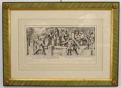 Italian Neo-classic style prints of various ancient Roman historical scenes