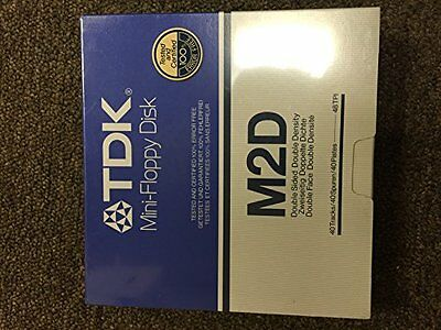 TDK Mini-Floppy Disk M2D-10 Pak Double Sided Double Density