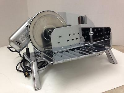 Stainless Rival Electric Meat Cheese Slicer ~ Model 1030v/4 Excellent Unused