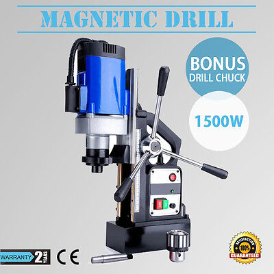 Magnetic Drill 240V Electric Fast Set Ups Electro-Mag Base 1500W Commercial