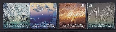 Australia AAT 2016 Ice Flowers Stamp Set