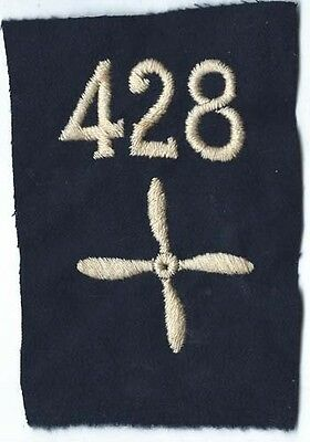 WWI 428th Aero Squadron Enlisted Patch