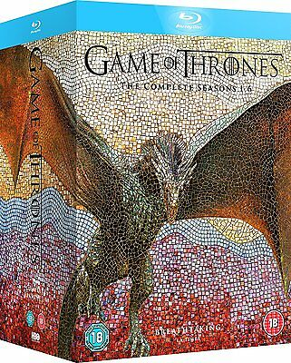 GAME OF THRONES Complete Season Series 1 2 3 4 5 6 Collection Boxset NEW BLU-RAY
