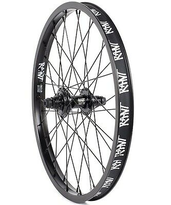 "RANT Party On 20"" Rear 9T BMX Cassette Wheel - Black RHD Rear Wheel only"