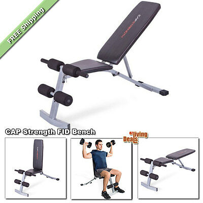 CAP Strength FID Bench Weight Workout Adjustable Home Gym Exercise Benches