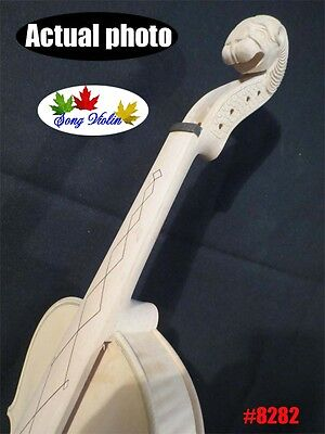 Strad style unfinished SONG Brand Maestro violin 4/4,carved monster scroll #8282