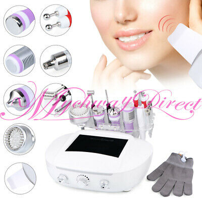 7in1 Diamond Microdermabrasion Machine BIO Gloves Hot Cold Hammer Wrinkle Remove