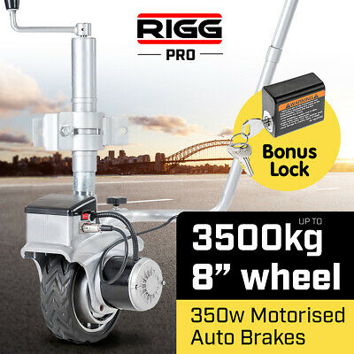 RIGG 12v Trailer Jockey Wheel  Motorised Power Electric Mover Caravan Boat
