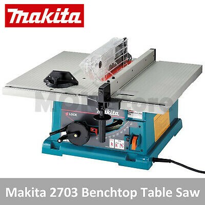 Makita 2703 1650W 15 Amp 10-Inch Benchtop Table Saw (220V/NEW) for Professionals