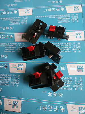 10 Pcs SPEAKER BOX PUSH SPRING TERMINAL  CONNECTOR SUBWOOFER - SHIPS