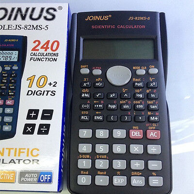 Scientific Calculator Two-line Display Math Science