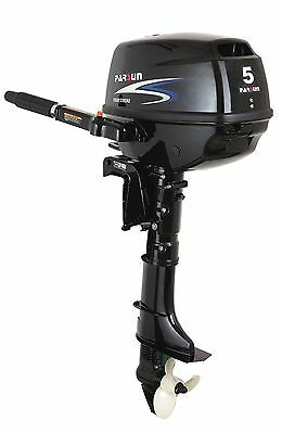 New Parsun 5hp short shaft, tiller control 4 stroke outboard engine