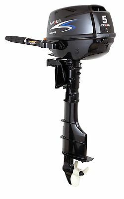 New Parsun 5hp long shaft, tiller control 4 stroke outboard engine
