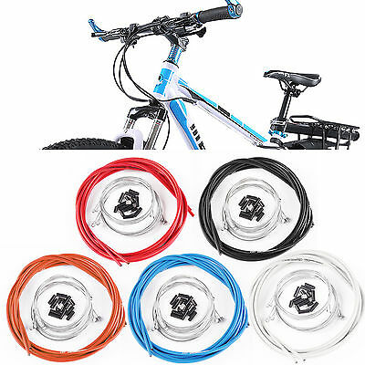 Brake Gear Front Rear Inner Outer Cables Bicycle Mountain Mtb Road 5 colours
