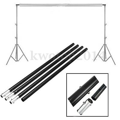 2.8m/9.2ft Adjustable Crossbar Photography Background Backdrop Support Stand Kit