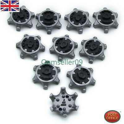 14pc Golf Pointes Broches 1/4 Turn Touche Rapide Crampons Chaussures