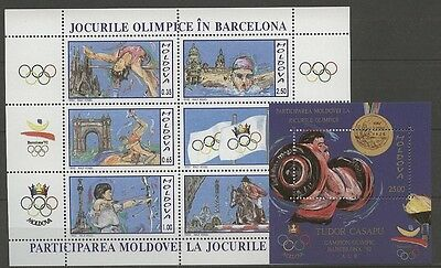 Olympiade, Olympic Games - Moldawien ** MNH 1992