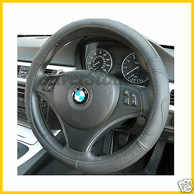 Steering Wheel Cover Quality Faux Leather Black