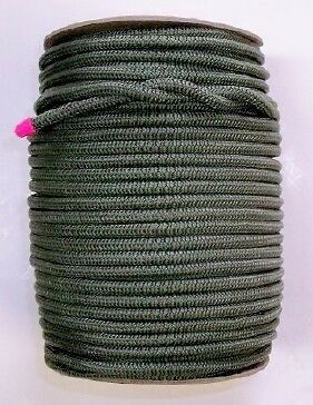 """200 ft spool 3/16"""" Olive Drab shock cord bungee(MFP jacket) Made in USA !!!"""