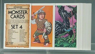 Advanced Dungeons and Dragons Monster Cards Set 4