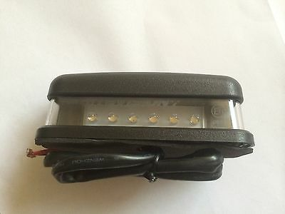 Bearmach Land Rover Series 2 & 3 Rear LED Number Plate Light Lamp PRC7255led