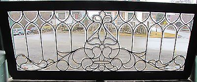 Great Victorian Beveled Glass Window
