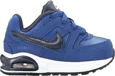 finest selection de1ed a89ef NIKE AIR MAX COMMAND FLEX LTR TD scarpe bambino blu sportive sneakers shoes  kids