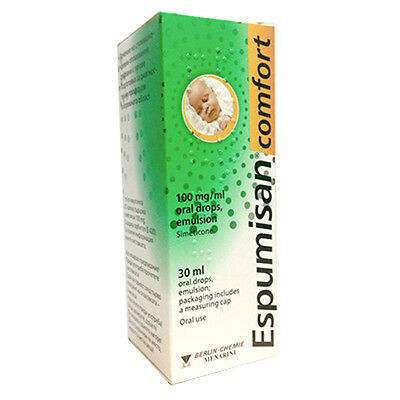 ESPUMISAN® COMFORT 30ml - Baby Anti Colic Drops - MAX STRENGHT 100mg/ml