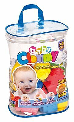 Clemmy Baby - Sac Souple - 24 Pièces - Clementoni - NEUF