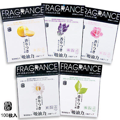 [COSMOS] Scented Fragrance Oil Blotting Paper 200pcs/2 packs NEW