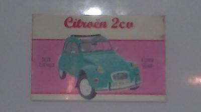 Citroen 2CV Fridge Magnet 50mm x 75mm Retro/Vintage Design