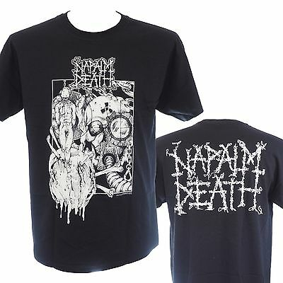 NAPALM DEATH - OLD LOGO - Official Licensed T-Shirt - Death Metal - New M L XL