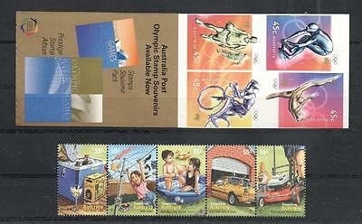 (933151) Olympics, Bicycle, Cars, Booklet, Australia