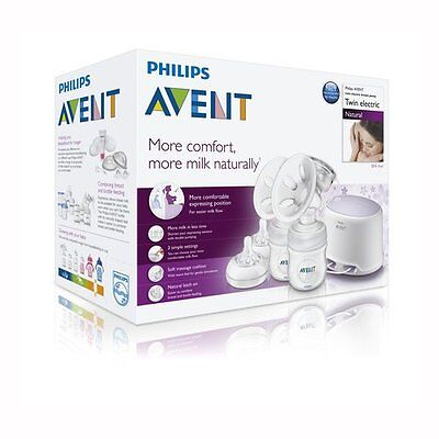 Philips Avent Electric Comfort Double breast pump SCF334/02